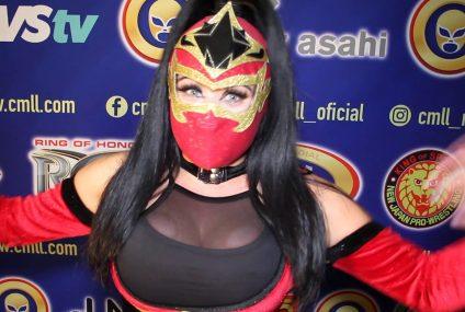Mystique, orgullosa de ser parte de la Amazonas del Ring del CMLL