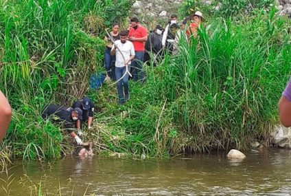 Encuentran a coiteco ahogado en presa de malpaso