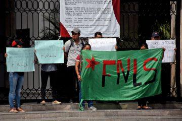Piden liberación de presos del FNLS