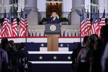 """Donald Trump aceptó la candidatura republicana a la presidencia de EEUU: """"Esta es la elección más importante en la historia de nuestro país"""""""
