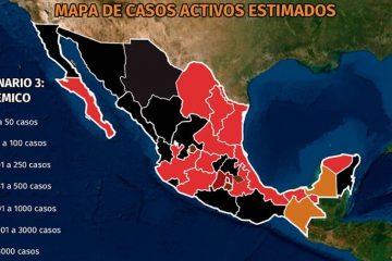 Mapa del coronavirus en México 17 de agosto: el país registra la tercera semana con descenso en contagios totales