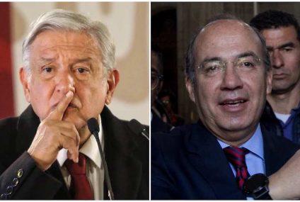 AMLO y Calderón cruzan acusaciones de apoyo al narco