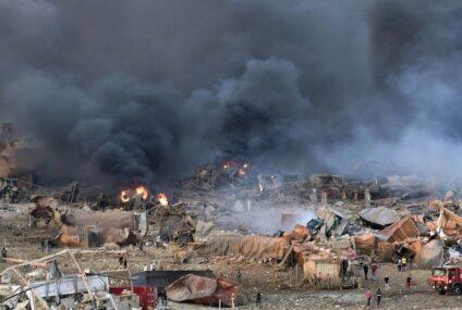 Explosión en Líbano: el 85% de los granos del país estaban almacenados en el puerto y sólo quedan reservas para menos de un mes