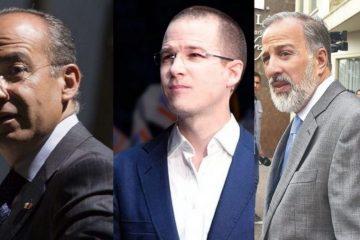 Calderón, Meade y Anaya rechazan supuestas acusaciones de Lozoya