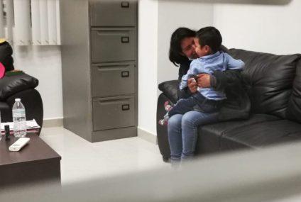 Dylan, el bebé desaparecido en Chiapas, ya fue encontrado