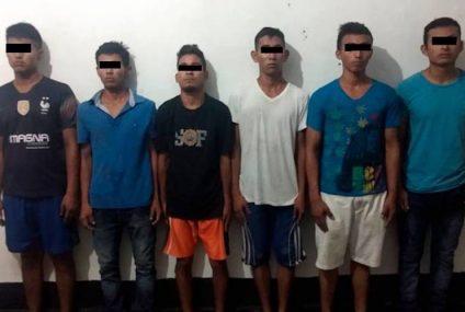 En Huixtla detienen a barrio-18 con drogas y armas
