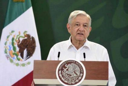 """Mentirosos e hipócritas"": López Obrador condenó suposiciones de Calderón por presunta censura a Loret de Mola"