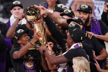 Lakers, campeones de la NBA después de 10 años