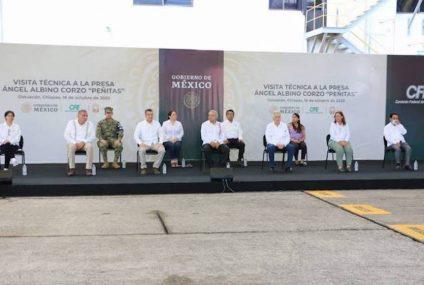 Programa de degradado para presas en Chiapas y Tabasco: AMLO