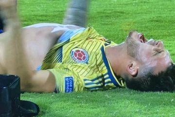 Nicolás Benedetti se lesiona de nuevo y abandona el campo en llanto