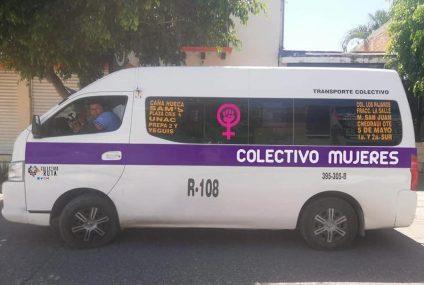 Colectivos exclusivos para mujeres a un paso de ser realidad en Tuxtla