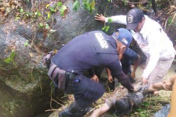 Fue arrastrado por el afluente desde la noche del lunes y su cuerpo fue encontrado hasta la mañana de ayer