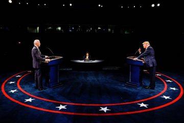 Trump y Biden debatieron por última vez sin alusiones directas a la comunidad latina