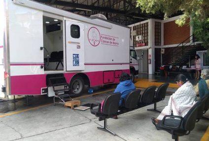 Se realiza campaña gratuita de mastografías en San Cristóbal