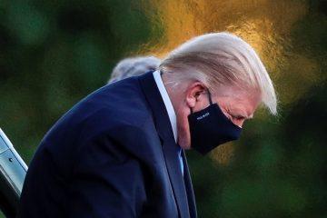 Trump sí recibió oxígeno: médicos revelan su estado de salud