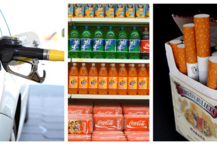 Por inflación, aumentará 3.3% impuestos de tabaco, bebidas azucaradas y gasolina en 2021: AMLO