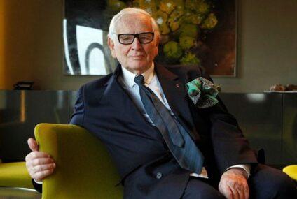 Muere el diseñador francés Pierre Cardin