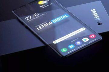 Samsung podría lanzar un móvil con pantalla transparente en 2021