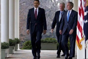 Obama, Bush y Clinton, voluntarios para aplicarse vacuna COVID-19