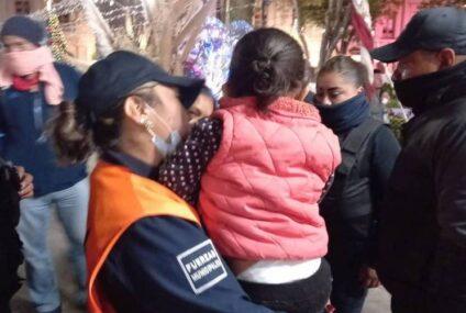 Recuperan a menor extraviada en San Cristóbal