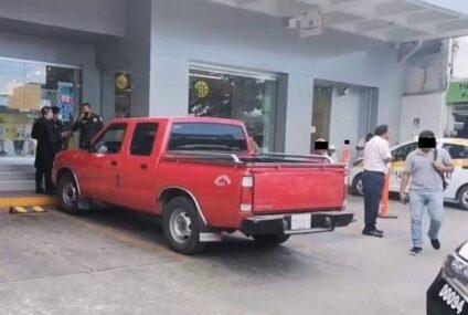 Hombre armado arrebata 110 mil pesos a cuentahabiente