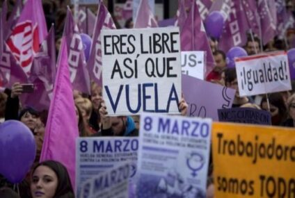 Cierran accesos al Zócalo previo a marcha de mujeres por el 8M