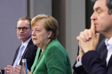 Alemania decreta cinco días de estricto confinamiento en Semana Santa por covid-19