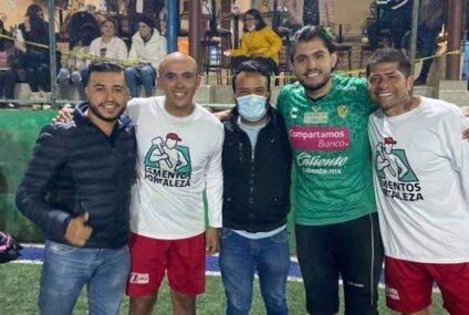Ex futbolistas de la liga MX estarán en barrios y colonias de SCLC