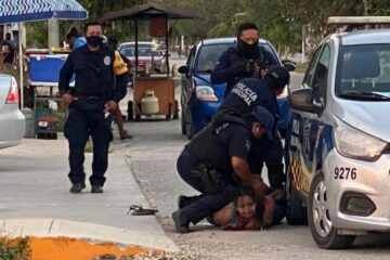 Conmoción en Tulum: mujer pierde la vida luego de ser sometida por policías