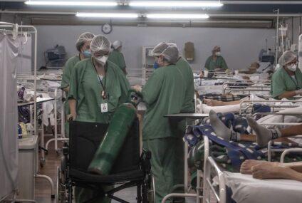 Brasil rompe récord de muertes covid; se agotan suministros en hospitales