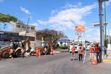 Inicia construcción de paso vehicular a desnivel en Tuxtla