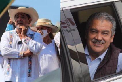 Gobernadores de Morena en desacuerdo con resolución sobre candidaturas de Salgado y Morón