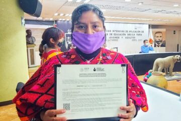 Inician jornadas contra analfabetismo en jóvenes y población adulta en Chiapas