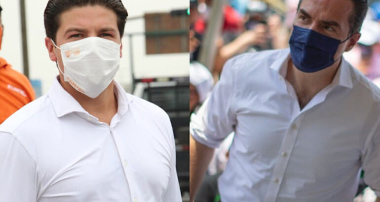 FGR investiga a Adrián de la Garza y Samuel García, candidatos a gubernatura de NL