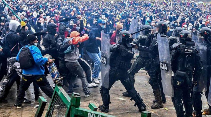 Comisión de la ONU en Colombia denuncia que recibió amenazas y disparos de  la Policía en Cali - Vía Libre