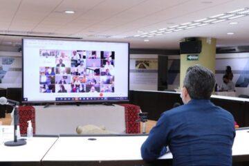 Chiapas participa en análisis para regreso a clases y avance en vacunación anti COVID-19