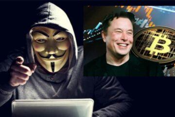 Anonymous amenaza a Elon Musk por manipular el precio del bitcóin, mostrando «un claro desprecio por una persona promedio trabajadora»