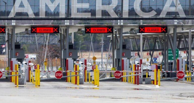EU extiende restricciones en las fronteras con México y Canadá hasta el 21 de julio