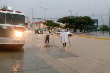 Alerta amarilla para regiones de Chiapas por lluvias