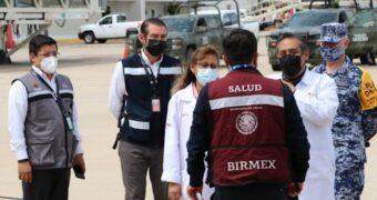 Inicia vacunación para personas de 40-49 años en Región Soconusco