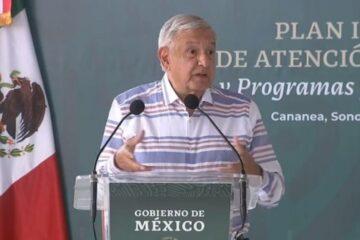 AMLO presenta plan integral para Cananea; la ciudad tendrá justicia, prometió
