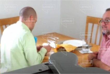 Captan a otro hermano de AMLO recibiendo dinero de David León