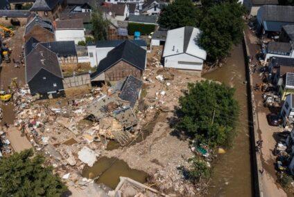 Van 182 muertos en Europa por inundaciones; «es surrealista y fantasmal», dice Merkel