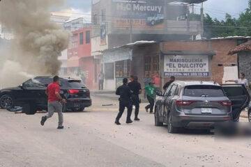 Balacera en Tuxtla Gutiérrez, Chiapas