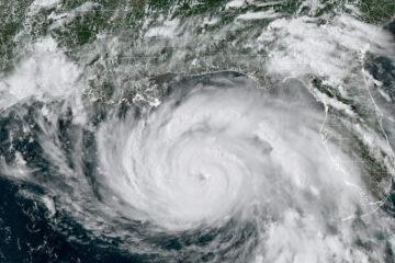 El huracán Ida, uno de los más poderosos que haya azotado EE.UU.