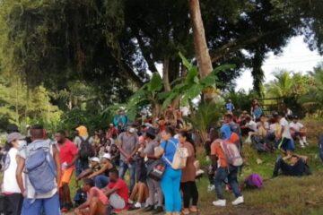 """""""En nuestro país nos estamos muriendo de hambre, no de COVID"""": migrante hondureño"""