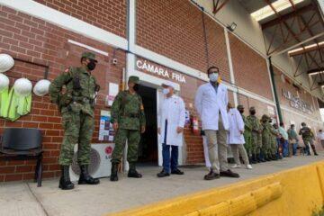 Rutilio Escandón reitera el llamado a la vacunación; llegan 121 mil dosis más a Chiapas