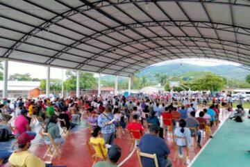 Inicia aplicación de segunda dosis de AstraZeneca en macro centros de Chiapas