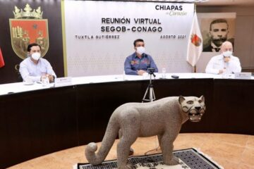 Chiapas, listo y organizado para iniciar las clases presenciales: Rutilio Escandón ante la Conago