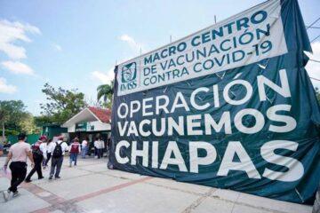 Publican sedes de vacunación para varios municipios de Chiapas